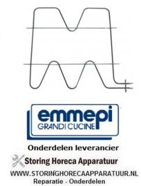 074C00215 - Verwarmingselement 2500W 230V voor oven EMMEPI