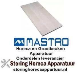 998850102 - Warmtegevende steen L 700mm B 350mm H 19mm pizza oven MASTRO