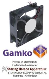 689601457 - Axiaalventilator 12VDC 12,72W lager kogellager drankenkoeling  GAMKO