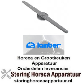 129506276 - Naspoelarm L 620mm sproeiers 6 inbouw ø boven vaatwasser LAMBER