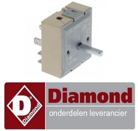 105C5322489 -  Energieregelaar 230V 13A voor kippengrill DIAMOND RVE/2C-SM