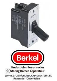 501346531 - Hevelschakelaar 2NO 250V 16A aansluiting schroefaansluiting LA 46mm BERKEL