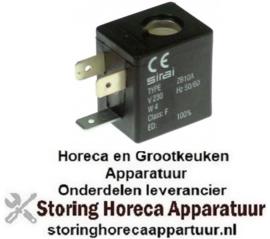 178371085 - Magneetspoel 230VAC 4VA spoeltype ZB10A afname ø 10mm 50/60Hz, SIRAI