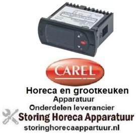313357285 - Elektronische regelaar CAREL inbouwmaat 71x29mm 230V spanning AC NTC beeldscherm 2-digits