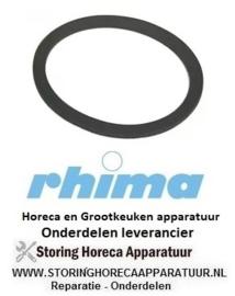 07150710018 - Vlakpakking rubber voor zoutcontainer vaatwasser RHIMA DR50