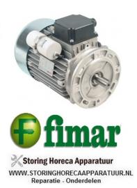 891SL0092 - Motor 1500W - 230V voor deegmenger  FIMAR 38