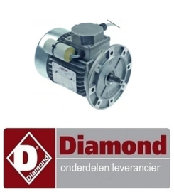879A87MR55002 - MOTOR VOOR PIZZA RILLER DIAMOND P32/X