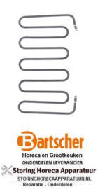 940419002 - Verwarmingselement 1400W 230V contactgrill BARTSCHER
