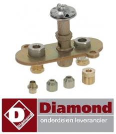 427.256.071.00 - Waakvlam 3 weg voor friteuse  DIAMOND G60/F8-3T, G60/F16-6T