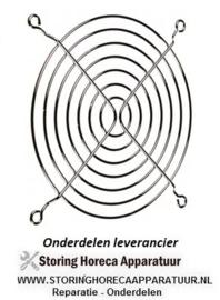 248691.102 - Beschermrooster ø 75 mm bevestigingsafstand 71 mm voor axiaalventilator 80 mm