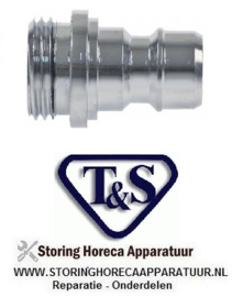 """580540484 - Snelkoppeling T&S ø 1/2"""""""