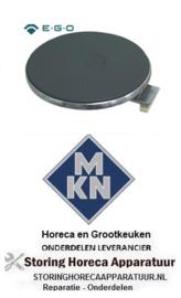 628490014 - Kookplaat ROND ø 180mm 1500W 230V voor MKN