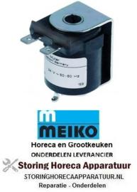241371037 - Magneetspoel 24VAC 50/60Hz aansluiting vlaksteker 6,3 mm, MEIKO