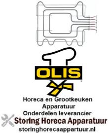 393416785 - Verwarmingselement 1800 Watt - 230/400 Volt voor oven OLIS