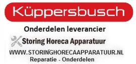 KUPPERBUSCH - HORECA EN GROOTKEUKEN APPARATUUR REPARATIE ONDERDELEN