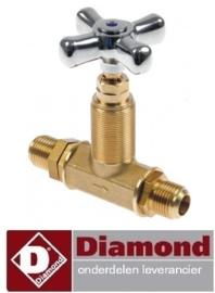 47867801014 - Afsluitkraan pastakoker DIAMOND E65/CP4T