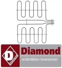 490182701 - Verwarmingselement 2200W 230V voor DIAMOND
