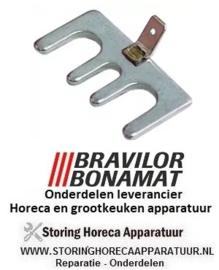 3886006015001 - Tegenflens RVS voor verwarmingslelement voor flens waterkoker  BRAVILOR HW520