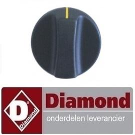 652A14076 - KNOP VOOR FRITEUSE , DIAMOND FSM-12GT/N