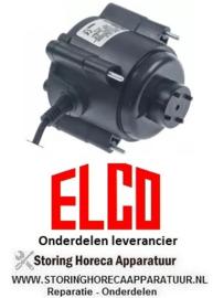 565.6018.86 - Ventilatormotor 14W 230V 50/60Hz  kabellengte 1000mm 1400U/min ELCO
