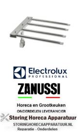 306105647 - kantel braadpan staafbrander 4-rijen  L 450mm B 455mm H 245mm  Electrolux, Zanussi