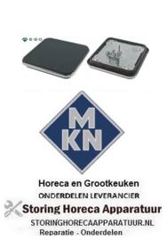 253490065 - Kookplaat maat 220x220mm 2000W 230V voor MKN