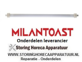 266420515 - Kwartselement 500 Watt -  110V  MILANTOAST
