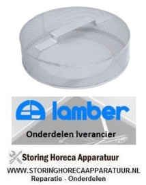 3110200025 - Rondfilter RVS LAMBER F85