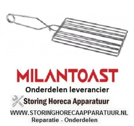 255690010  - Tang voor rooster H 180mm totale lengte 100mm