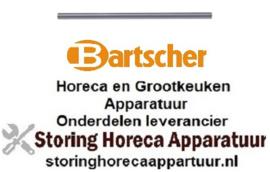 348694307 - Stanggreep pijp ø 19mm voor oven Bartscher