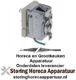 174390415 - Thermostaat t.max. 60°C instelbereik vast 60°C 1-polig 1CO 16A voeler ø 6mm voeler L 129mm