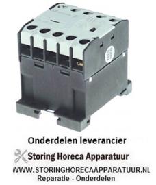 323380171 - Relais AC1 - 20A - 230VAC - AC3- 400V-  9A-4kW hoofdcontact 3NO hulpcontact 1NO