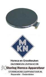 970490019 - Kookplaat Rond ø 220mm 2000W 230V voor MKN