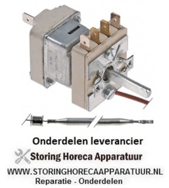 375.55.19639.020 -  Thermostaat t.max. 180°C instelbereik 53-180°C 1-polig 1NO 16A