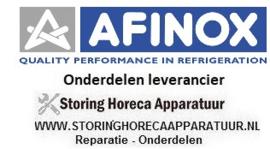 AFINOX - HORECA EN GROOTKEUKEN APPARATUUR REPARATIE ONDERDELEN