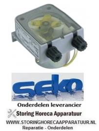 3614.03611.52 - Doseerpomp zeep SEKO zonder sturing 3l/h 230 VAC wasmiddel slang ø 4x6mm slangtype K