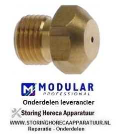 2916.74012.00 - Gasinspuiter draad M10x1 SB 12 boring ø 0,85 mm MODULAR 65/70FRG