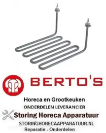 594416004 - Verwarmingselement 2700W 230V VC 1 L 240mm B 208mm H 125mm BERTOS