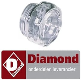 02309950208400 - BESCHERMINGSGLAS VOOR LAMP DIAMOND PIZZA OVEN