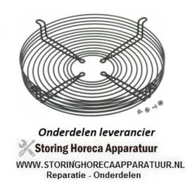 7993240558 - Rooster voor ventilatorblad ø 250 mm H 45 mm bevestigingsafstand 1 300 mm