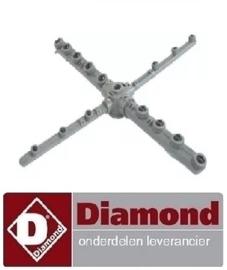 518990108 - Was- en naspoelarm wasarm DIAMOND D86-EK/A