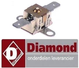 543390199 - Maximaalclixon LA 24mm uitschakeltemp. 210°C voor gasfriteuse MIKA DIAMOND