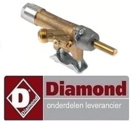 842C5816299 - Gaskraan  voor kippen grill DIAMOND RVG/2-SM