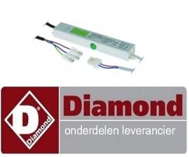 063SA03093- VOEDING VAN LED LAMP VOOR TR6-M/R+SNE/**  DIAMOND