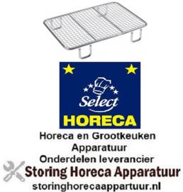 526970742 - Kruimelzeef L 216mm B 149mm H 37mm staal verchroomd voor friteuse HORECA-SELECT