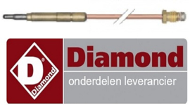87867200100 - Thermokoppel gas bakplaat DIAMOND G65/PL4T