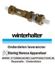 128521043 - Doorstroomregelaar doorstroomsnelheid 2-8l - min koper slang ø 14mm werkdruk max. 10bar vaatwasser Winterhalter