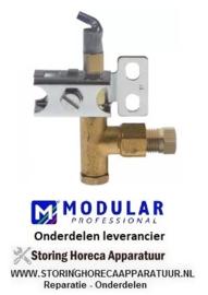 9016.72080.00 - Waakvlambrander gasfornuis MODULAR 70/70PCG