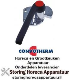 639690027 - Hendelsluiting links L 150mm H 59mm voor oven CONVOTHERM