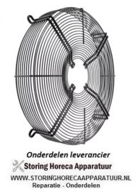 295601.953 - Beschermrooster ebm-papst voor ventilatorblad ø 500 mm ø 530 mm